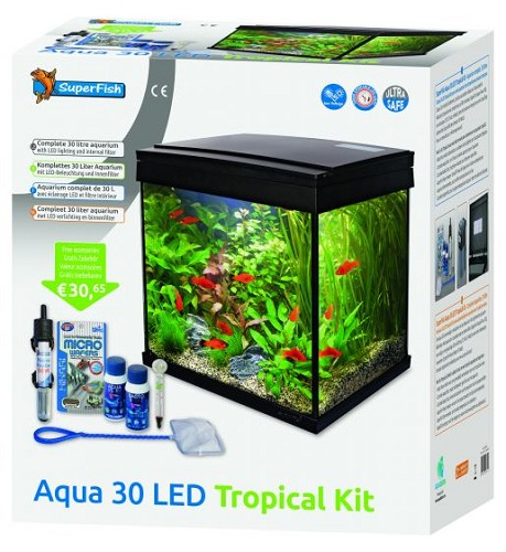 Superfish aqua 30 led tropical kit