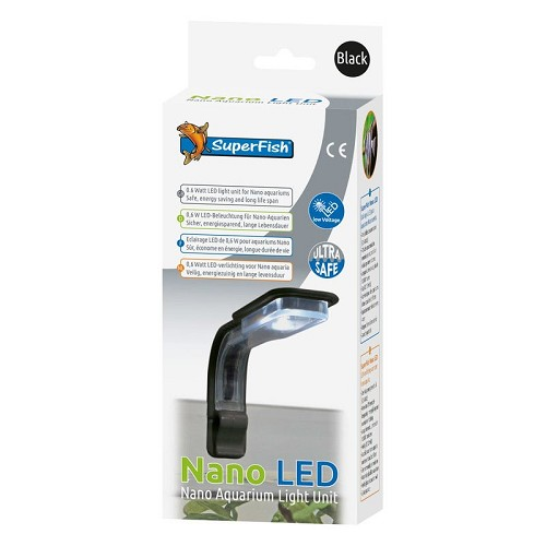Superfish nano led zwart
