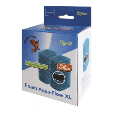 Superfish aquaflow XL spons 2 stuks