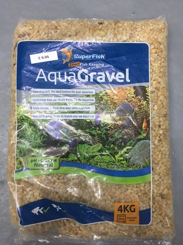 superfish aqua grind geel 3-6mm 4 kilo