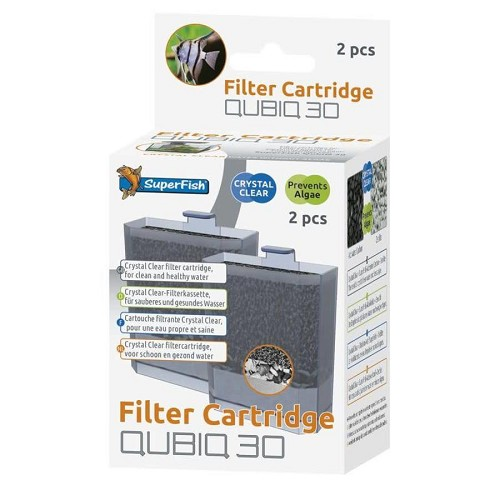 superfish qubiq 30 cartridge 2 stuks