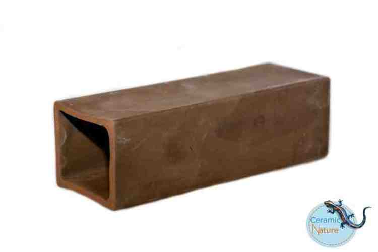 cave medium rectangle brown 11x3x2,5 cm