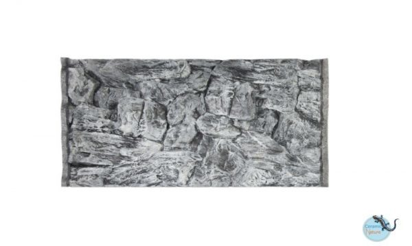 Backgrounds rock grey 200x50 cm