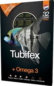 Dutch select tubifex&omega3 100 gram