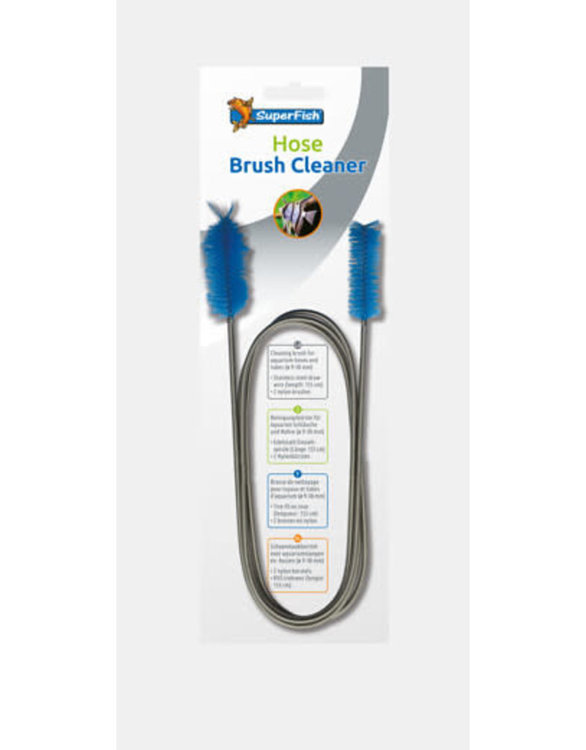 Superfish hose brush cleaner