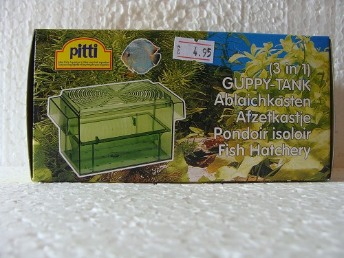Pitti Guppy tank 3 in 1